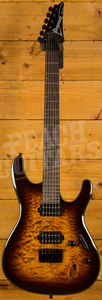 Ibanez S621QM-DEB Dragon Eye Burst