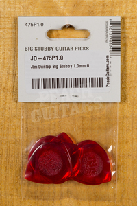 Dunlop Picks - Big Stubby - Players Pack
