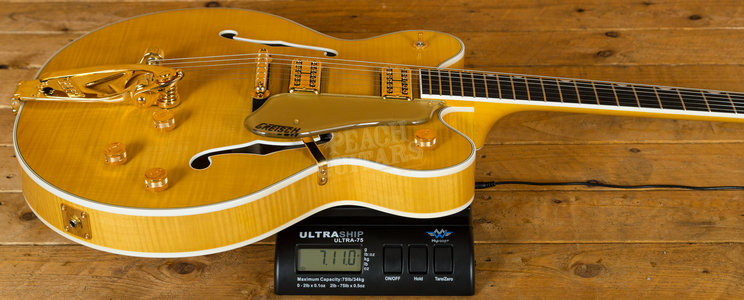 Gretsch G6122TFM Players Ed Country Gentleman Flame Maple Amber Stain
