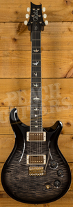 PRS DGT Charcoal Burst Flame Maple Neck 10 Top
