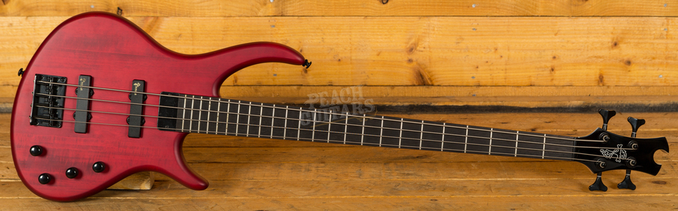 Epiphone Toby Deluxe IV Bass Trans Red
