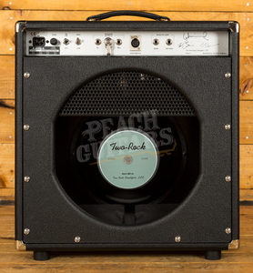 Two-Rock Classic Reverb Signature 50 Watt Combo Silver Knobs