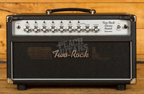 Two-Rock Classic Reverb Signature 100 Watt Head Silver Panel & Knobs