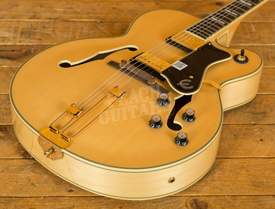 Epiphone Broadway Natural with Gold Hardware