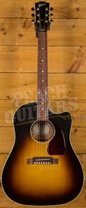 Gibson 2018 J-45 Standard Vintage Sunburst Electro Cutaway