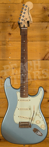 Fender Deluxe Roadhouse Strat Pau Ferro Mystic Ice Blue