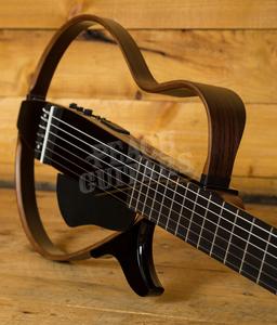 Yamaha SLG200N Nylon String Silent Guitar Translucent Black