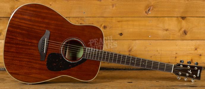 Yamaha FG850 Acoustic Solid Mahogany Top Back & Sides Natural