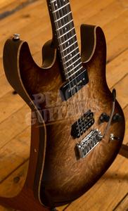 Patrick James Eggle 96 Drop Top Burl Maple P90/HB