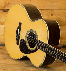 Yamaha LJ6 ARE Acoustic Natural With Hard Gigbag