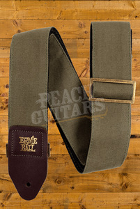Ernie Ball Olive Canvas Strap