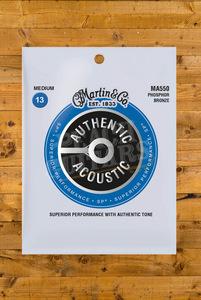 Martin Authentic Acoustic - SP - Phosphor Bronze Medium 13-56