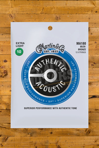 CF Martin Authentic Acoustic - SP - 80/20 Bronze 12 String