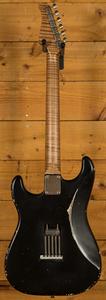 Xotic California Classic XSC-2 Black Medium Aged - Mastergrade
