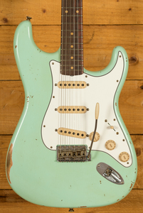Fender Custom Shop Late 59 Strat Relic Aged Surf Green
