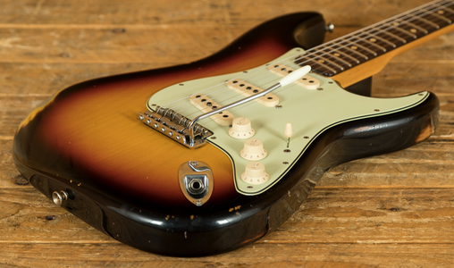 Fender Custom Shop '60 Strat Relic 3 Tone Sunburst