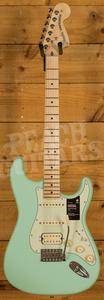 Fender American Performer Stratocaster HSS, Maple Satin Surf Green