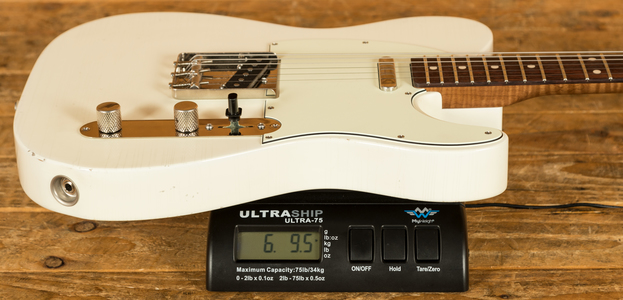 Xotic California Classic XTC-1 Olympic White Light Aged - Mastergrade
