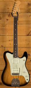 Fender Parallel Universe Jazz Tele - Rosewood 2 Tone Sunburst B-Stock