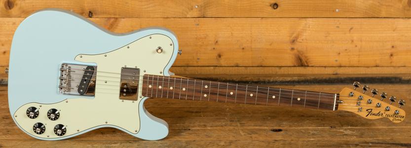 Fender Vintera 70s Tele Custom Pau Ferro Sonic Blue