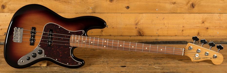 Fender Vintera 60s Jazz Bass Pau Ferro 3 Tone Sunburst