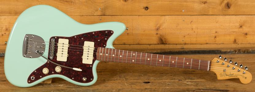 Fender Vintera 60s Jazzmaster Mod Pau Ferro Surf Green
