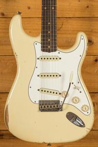 Fender Custom Shop Late 59 Strat Relic Aged Vintage White