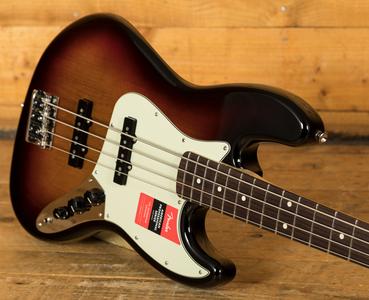 Fender American Pro Jazz Bass 3-Tone Sunburst Rosewood