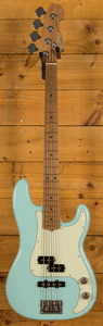 Fender Limited Edition American Pro PJ Bass Roasted Maple Neck Daphne Blue