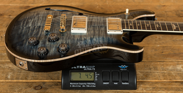 PRS McCarty 594 Semi Hollow - Faded Whale Blue