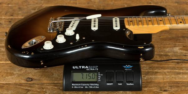 Fender Custom Shop Ancho Poblano Strat - 2 Tone Sunburst