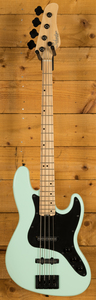 Schecter Bass - J-4 Maple FB Sea Foam Green