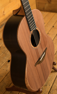 Lowden F-50 African Blackwood & Sinker Redwood