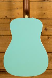 Fender Malibu Player - Aqua Splash