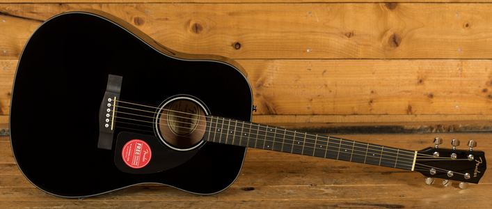 Fender CD-60 V3 Dreadnought - Black
