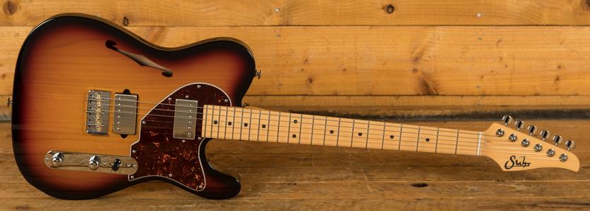 Suhr Alt T Pro 3 Tone Sunburst Maple Neck