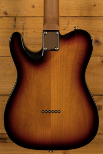 Suhr Classic T Pro Peach LTD - 3 Tone Sunburst - Roasted Maple/RW