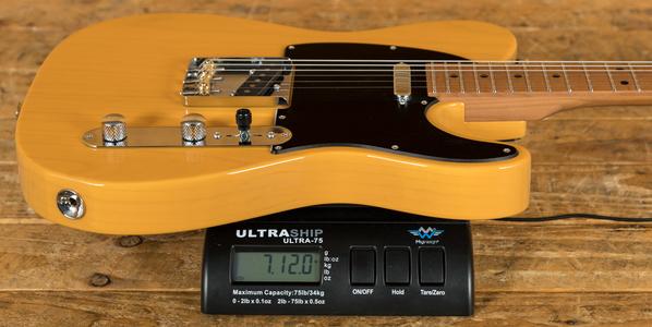 Suhr Classic T Pro Peach LTD - Trans Butterscotch - Roasted Maple Neck