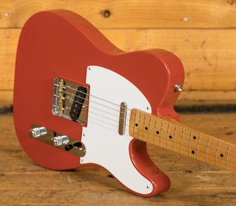 Fender Vintera 50s Tele Maple Neck Fiesta Red