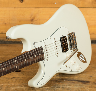 Suhr Classic Pro Peach LTD - HSS Rosewood Olympic White Left Handed
