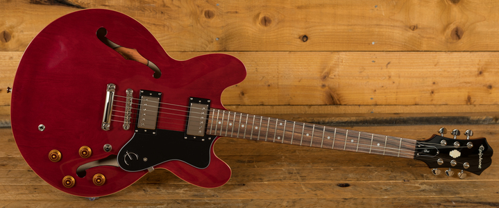 Epiphone Dot 335 Cherry Chrome Hardware