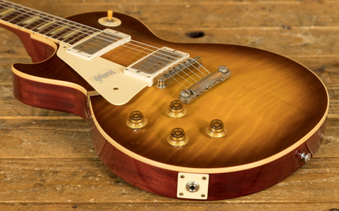 Gibson Custom 60th Anniversary 59 Les Paul Royal Teaburst Left Hand VOS