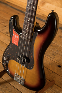 Fender Japan Traditional 60s P Bass 3 Tone Sunburst Left Handed