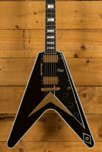 Gibson Custom Flying V Custom w/ Ebony Fingerboard Gloss Ebony