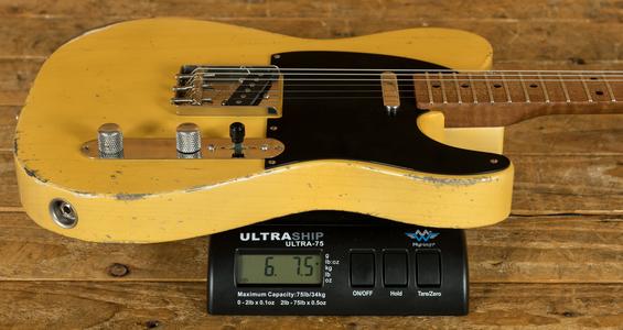Xotic California Classic XTC-1 Butterscotch/Medium Ageing