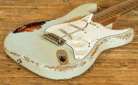 Fender Custom Shop - '58 Strat Heavy Relic Custom Colour Dale Wilson Masterbuilt