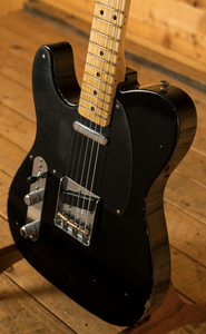 Fender Custom Shop 51 Nocaster Relic Left Handed MN Black
