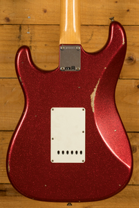 Fender Custom Shop '60 Strat Relic Red Sparkle