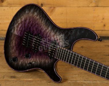 Mayones Regius 6 - Quilted Maple 4A Galaxy Purple Gloss