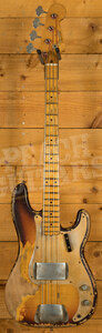 Fender Custom Shop 1958 P-Bass Heavy Relic MB Vincent Van Trigt Faded Chocolate